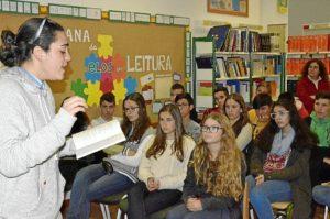 Poetas del Guadiana en la semana de la lectura en Vila Nova de Cacela (2)