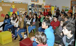 Poetas del Guadiana en la semana de la lectura en Vila Nova de Cacela (3)