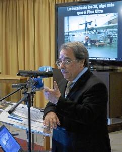 Rector UNIA Jornadas Historia Palos