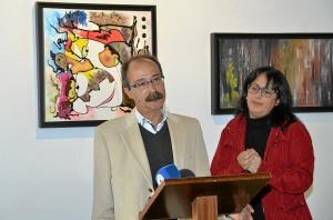 Vicente cardoso y Gema Martin