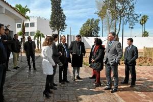 Visita De Llera centro menores Huelva (1)