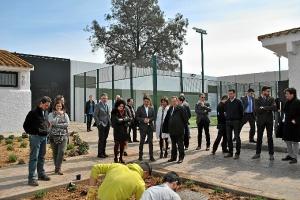 Visita De Llera centro menores Huelva (2)