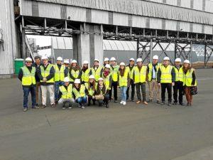 Visita Impala Ingeniero Caminos Politecnica Madrid Puerto  Huelva