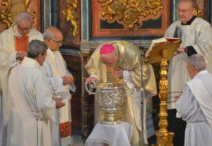 misa crismal obispo huelva