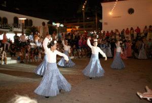 Imagen de archivo de las fiestas de El Rompido.
