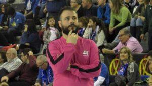 Carlos Vallés, preparador físico del CB Conquero.