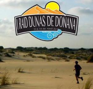 Cartel del Raid Dunas de Doñana.