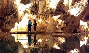 Catherine Buni en gruta Maravillas