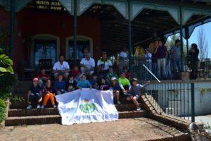 Ganadores del Gran Premio Benjamín de golf en Isla Canela.