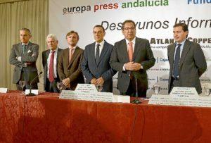 Los desayunos de Europa Press cuentan con la colaboración de diversas entidades, entre las que está la Fundación Atlantic Copper. (Foto: HuelvaYa)