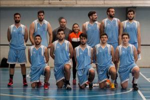 Equipo de baloncesto masculino de Huelva.
