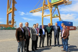 Exportadores Muelle Sur Puerto de Huelva