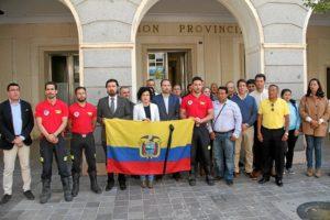 Minuto silencio y RP Bomberos Ecuador_01