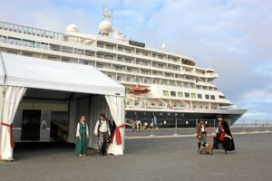 Muelle Sur Puerto de Huelva crucero Prinsendam