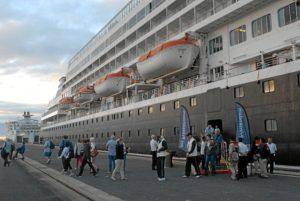Prinsendam Puerto de Huelva