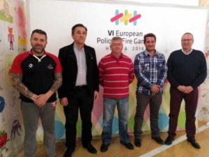 Convenio Huelva Taxi con los Juegos Europeos de Policías y Bomberos.