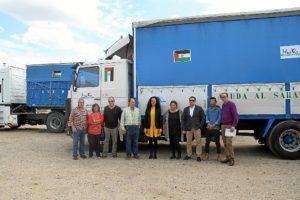 camiones ayuda al Sahara 02