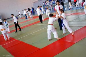 Torneo de judo en Ayamonte.