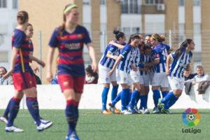 Fundación Cajasol Sporting-FC Barcelona.
