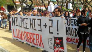 manifestacion estudiantes en huelva (2)