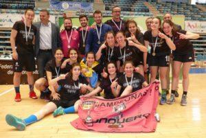 CB Conquero, campeón de Andalucía junior de baloncesto femenino.
