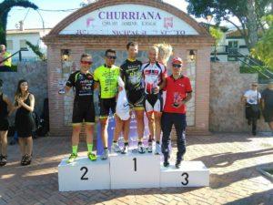 Nuevo podium para el Monferve La Palma en Churriana.