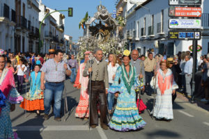 160518 Llegada de la Hermandad de San Juan del Puerto