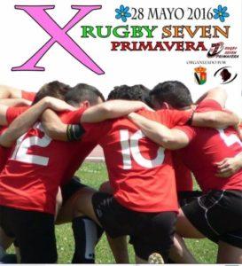 Cartel del X Torneo de Rugby Seven Primavera.