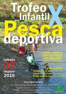 A4 CARTEL X TROFEO PESCA INFANTIL