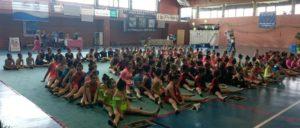 Torneo de gimnasia rítmica en Isla Cristina.