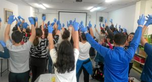 Imagen de Taller celebrado en el CEIP El Carmen