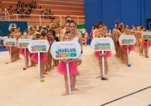 Campeonato de Andalucía de gimnasia rítmica.