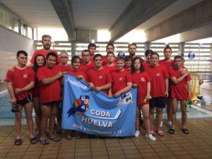 Nadadores del CODA.
