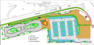 Urbanizacion zona Puente Sifon Puerto de Huelva
