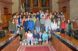 Visita Parlamento escolares Palos
