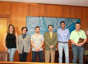 Visita nueva comision ejecutiva provincial UGt Puerto de Huelva