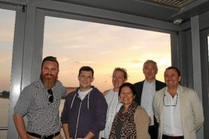 Visita representantes deThomson Puerto de Huelva