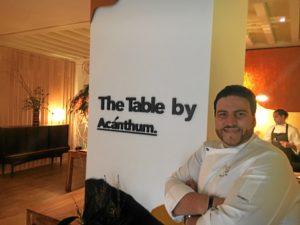 Xanty Elias the table 2