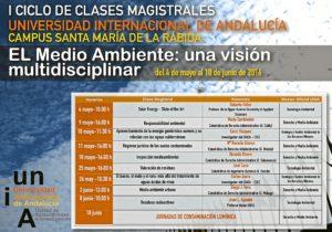 cartel ciclo clases magistrales