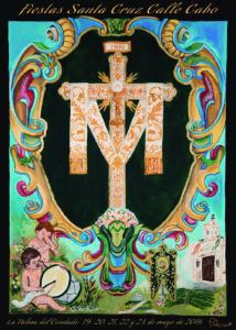 cartel de las fiestas de la calle cabo en la palma del condado 2016