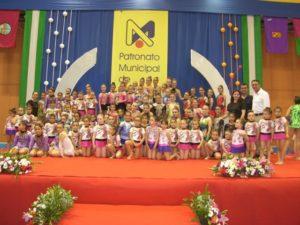 Escuela de gimnasia rítmica de Moguer.