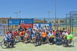 Torneo de pádel adaptado en Huelva.