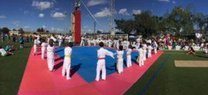Miniolimpiadas en Gibraleón.