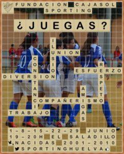 Campaña de captación de nuevas jugadoras del Cajasol Sporting.