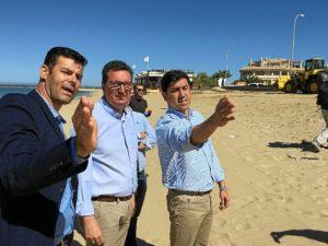 inicio obras en las playas de huelva (2)
