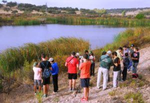 Jornadas de pesca deportiva organizadas por la Diputación de Huelva.