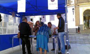 protesta en Valverde del Camino cntra la precariedad laboral (1)