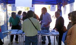 protesta en Valverde del Camino cntra la precariedad laboral (2)