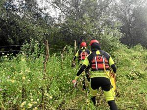 rescate bomberos arroyo Almonte