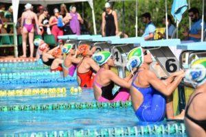 Nadadores del Club Natación Huelva.
